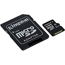 Kingston Canvas Select 64GB microSDHC Class 10 UHS-I 80MB/s Flash Memory Card (SDCS/64GB)
