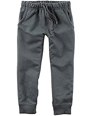 Carter's Baby Boys Knit Pant, Grey
