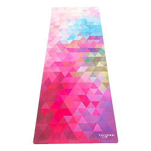 The Combo Yoga Mat. Luxurious, Non-Slip, Mat/Towel Designed to Grip Better w/Sweat! Machine Washable, Eco-Friendly. Ideal for Hot Yoga, Bikram, Ashtanga, or Sweaty Practice (Tribeca Sand)