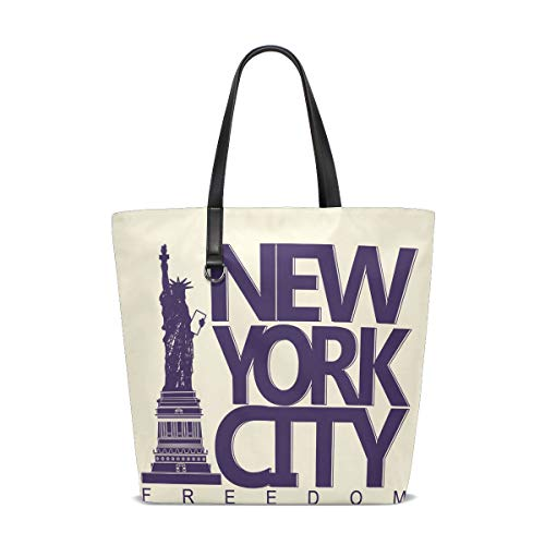 Cabas York Femme Taille Bennigiry City Pour Of Liberty Unique Statue New 001 Tote American 4v4q7EFn