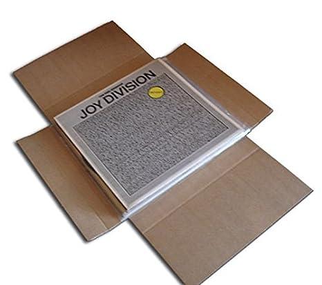 CUIDATUMUSICA Cajas Cartón Embalaje y Envío para Enviar Discos de Vinilo LP/Pack de 20: Amazon.es: Electrónica