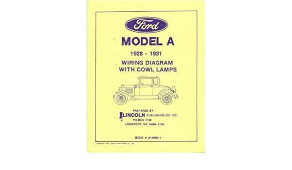 amazon com 1928 1929 1930 1931 ford model a wiring diagrams 1930 ford wiring diagram 1929 ford wiring diagram #11