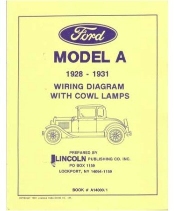 1931 model a wiring diagram