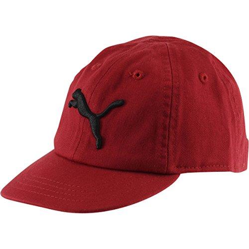 Puma Infant Boy's Evercat Podium Red/Black Cotton Baseball Cap - Podium Apparel