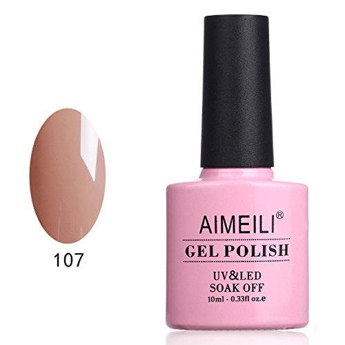 AIMEILI Soak Off UV LED Gel Nail Polish - Stella Anethum (107) 10ml