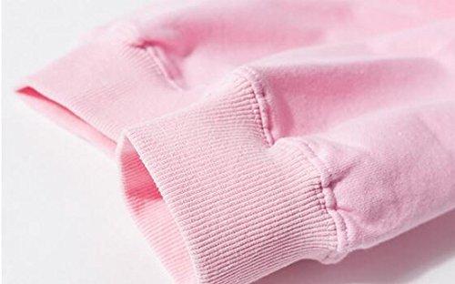 Sleeve UK today Mens Sweatshirt Hip Print Pullover Hop Pink Fashion Hooded Long Rqq4dZ0