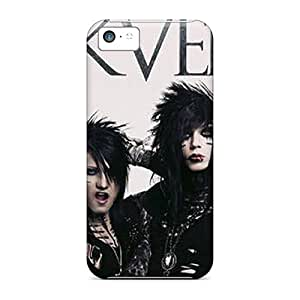 AnnaDubois Iphone 5c Shockproof Hard Phone Covers Provide Private Custom Fashion Black Veil Brides Pattern [ZLx9671Foue]