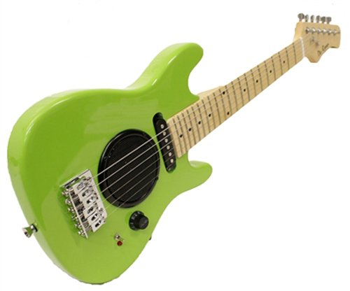 "Child's Toy 30"" Electric Guitar w/ Built-in Amp - Includes C"