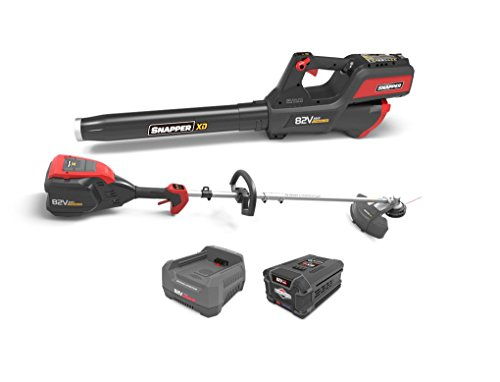 Snapper XD 82V MAX Electric Cordless Battery-Powered Clean Up Bundle, 1687885, ()
