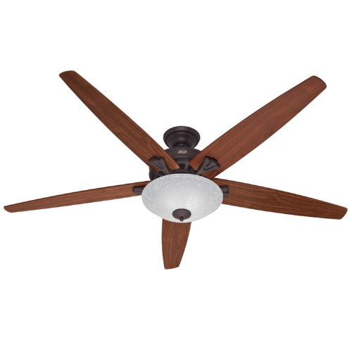 Hunter Fan Company Builder Great Room New Bronze Ceiling: Hunter 23963 Stockbridge 70-Inch 3-Speed Ceiling Fan With