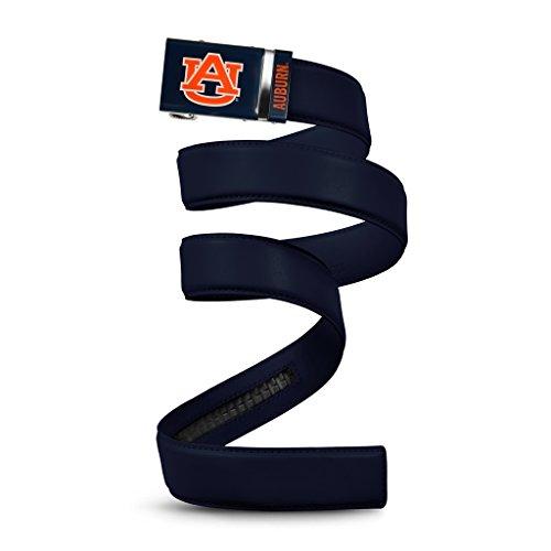 NCAA Auburn Tigers Mission Belt, Deep Blue Leather, Large (up to 38) ()