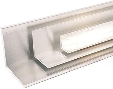 Abmessung 40 x 40 x 2 L/änge 1000 mm Oberfl/äche blank gezogen Aluminium Winkel Winkelprofil Aluprofil gleichschenklig