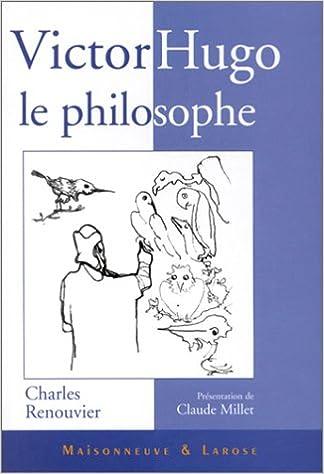 En ligne Victor Hugo le philosophe pdf ebook