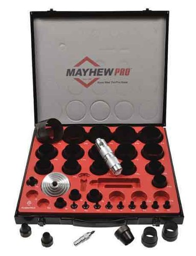 Mayhew 66016 1/8-Inch to 2-3/8-Inch Imperial SAE Hollow Punch Set by Mayhew
