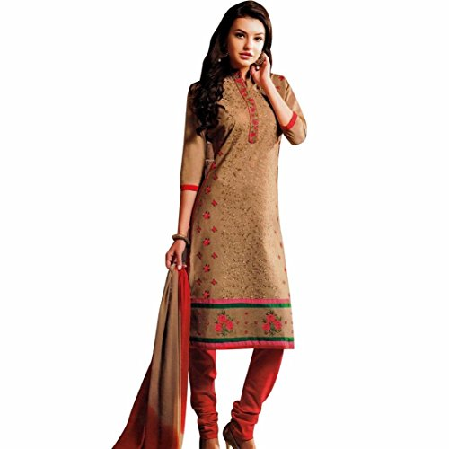 Designer-Elegant-Embroidery-Cotton-Salwar-Kameez-Readymade-India