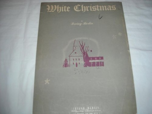 The Drifters - White Christmas Irving Berlin 1942 Sheet Music Sheet Music 291 - Zortam Music