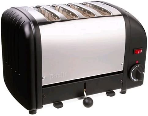 Dualit 4 Slice Toaster Black