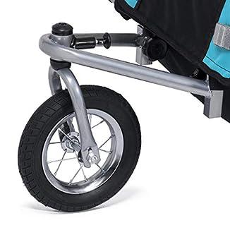 Remolque de bici para niños con kit de footing 6