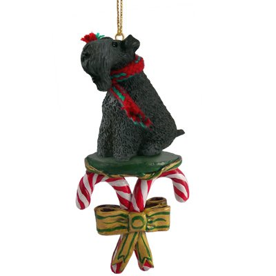 Kerry Blue Terrier Ornaments (Conversation Concepts Kerry Blue Terrier Candy Cane Ornament)