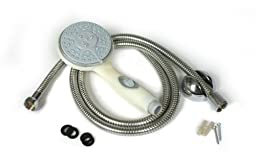 Camco 43715 Shower Head Kit with On/Off Switch and 60\
