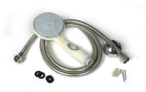 Camco 43715 Shower Head Kit with On/Off Switch and 60