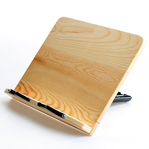 Camino-Pine-Book-Stand-Book-Holder-Book-display-Cook-Book-Stand-
