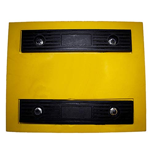Esco 12593 Safety Yellow Pro Series Wheel Chock for Dump Trucks, Loaders, Construction Equipment and Tractors by Esco (Image #4)