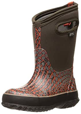 Amazon.com | Bogs Kids' Classic Scale Winter Snow Boot | Boots