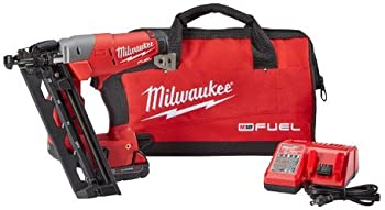 Milwaukee M18 FUEL 16ga Angled Finish Nailer Kit