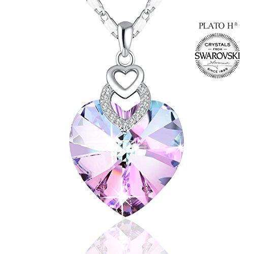Necklace PLATO Pendant Crystal Swarovski product image