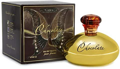 Chocolate Eau De Toilette for Women - 100 ml with Gourmet Fragrance