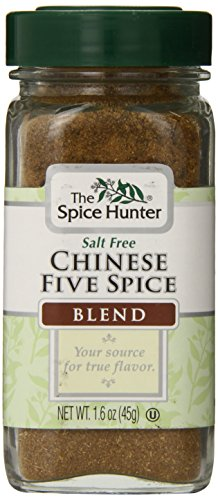 The Spice Hunter Chinese Five Spice Blend, 1.6-Ounce - Five Seasoning Chinese Spice