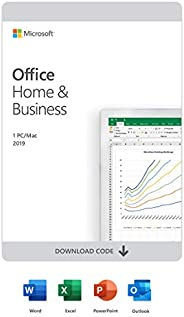 Microsoft Office Home & Business 2019 | English | 1 Device | PC/Mac Down