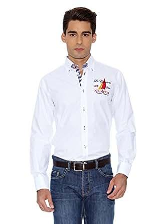 La Española Camisa Hombre  Blanco 3XL