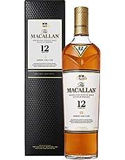 The Macallan 12 Year Old Sherry Oak Single Malt Scotch Whisky, 700 ml