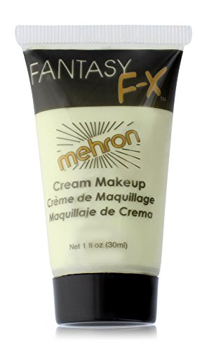 Mehron Makeup Fantasy F/X Water Based Face & Body Paint, GLOW IN DARK – 1oz Carded
