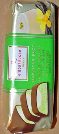 Niederegger Vanilla Truffle Marzipan Made From Pistachios 75g (Pack of 2)