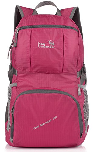 outlander-large-packable-handy-lightweight-travel-backpack-daypack-fuschia