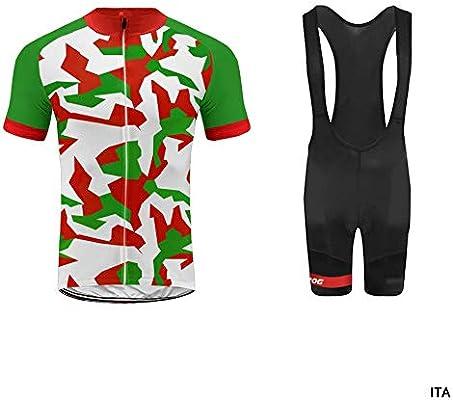 Uglyfrog Color de la Bandera con Camuflaje Mens Ciclismo Jersey ...