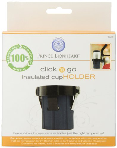 Prince Lionheart Clink n Go Insulated Stroller Cup Holder by Prince Lionheart