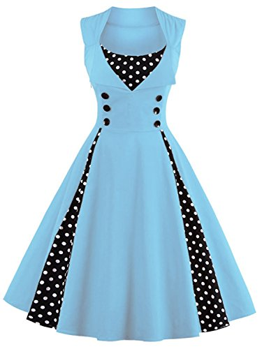 Womens 2017 Short Prom Homecoming Dressses for Speical Occasion,Blue,L by Babyonlinedress