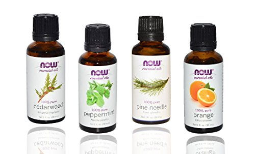 4 pack Now Foods Essential Oils