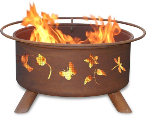 Patina Products F110,  30 Inch Flower & Garden Fire Pit