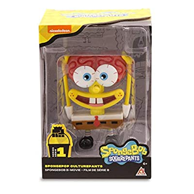 "SpongeBob SquarePants, Spongepop Culturepants, 4.5"" Collectible Vinyl Figure, B-Movie: Toys & Games"