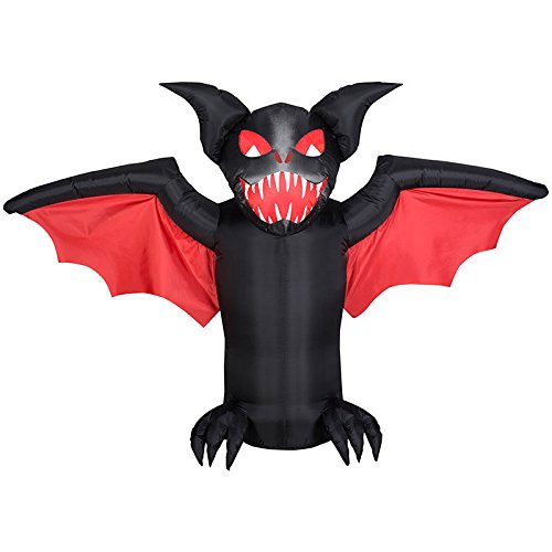 Scary Bat Airblown Inflatable Halloween Prop Decoration