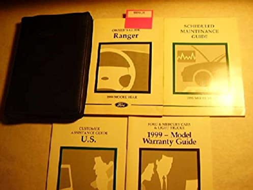 1999 ford ranger owners manual ford amazon com books rh amazon com 1999 ford ranger 3.0 owner's manual 1999 ford ranger owners manual pdf