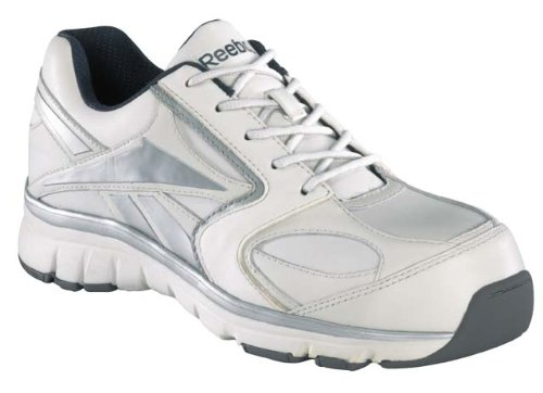 Converse Steel Toe Work Shoe (Reebok Men's Work Senexis Composite Toe Sneaker White 4)