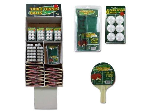 Bulk Buys KK018-134 Metal/Plastic and Wood Ping Pong Set - Case of 134