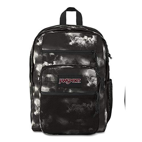 Jansport Big Campus Backpack - Lightweight 15' Laptop Bag | Lightning Clouds