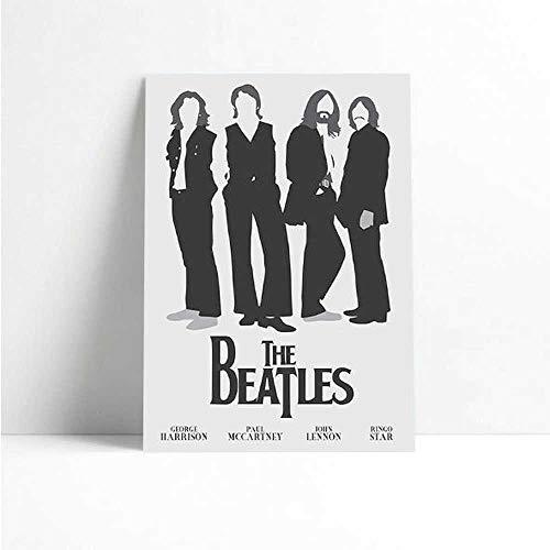Quadro Decorativo - The Beatles (5) - Quadro 20x30